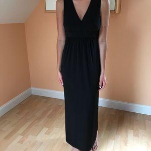 Elementz Black Knit Maxi Dress